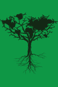 Earth tree Dark green edition