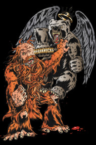 Sasquatch vs Winged King WereBear