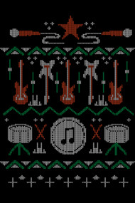 Rockstar ugly sweater