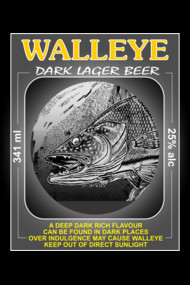 Walleye Dark Lager Beer