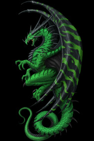 "Master Dragon ""green"""