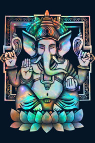 Cosmic Ganesh Bright