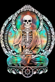 Cosmic Buddha Skeleton 2