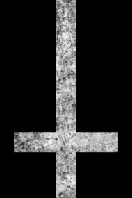Inverted Cross - Grunge