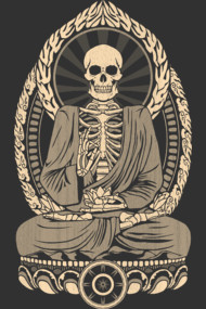 Starving Buddha Skeleton - Aged