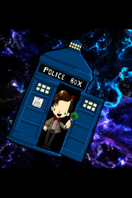 TARDIS in SPACE doctor who 11