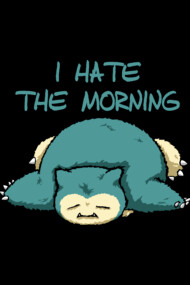 Snorlax morning