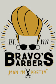 Bravo's Barbers - Man I'm Pretty!