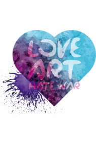 Love Art Hate War-Heart