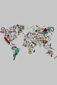world map symphony
