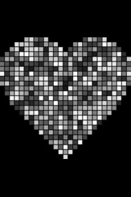 Love Heart Pixels