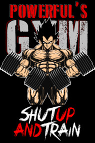 Shut up and train - gym