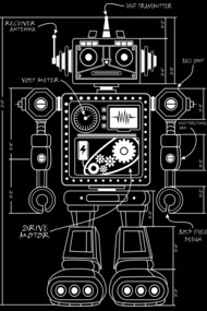 Vintage Robot Architect 2