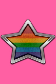 Rainbow  Pride Star