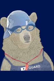 Lifeguard Bear