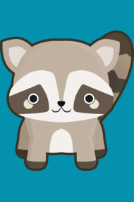 Kawaii Raccoon