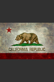 California Republic state flag
