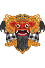 The Barong Mask