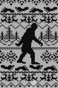 Gone Squatchin Ugly Sweater Style