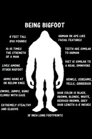 Being Bigfoot
