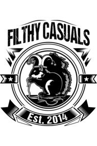 Filthy Casuals Squirrel Sticker