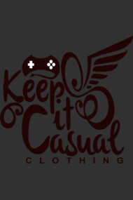 Keep It Casual Clothing Company Logo Dark