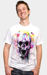 waterSKULLor T-Shirt