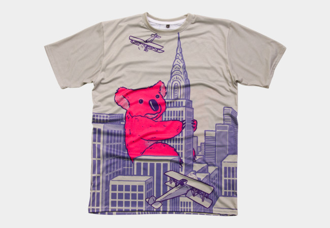 Marsupial Madness T-Shirt - Design By Humans