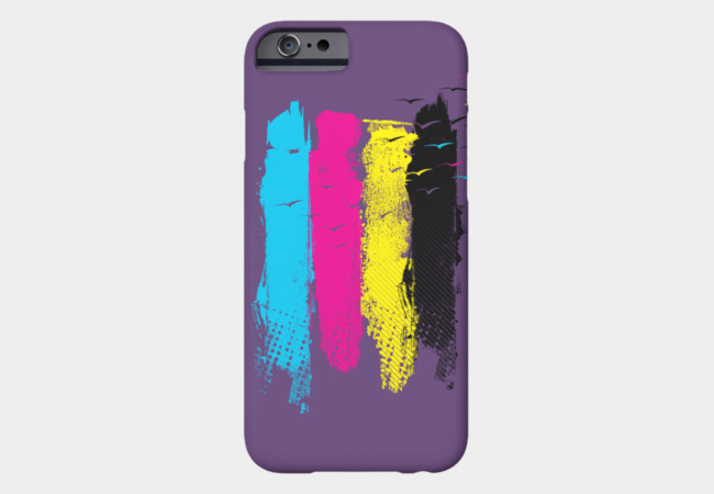 Escape in CMYK Phone Case - Design By Humans