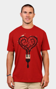 Paint Your Love Song T-Shirt