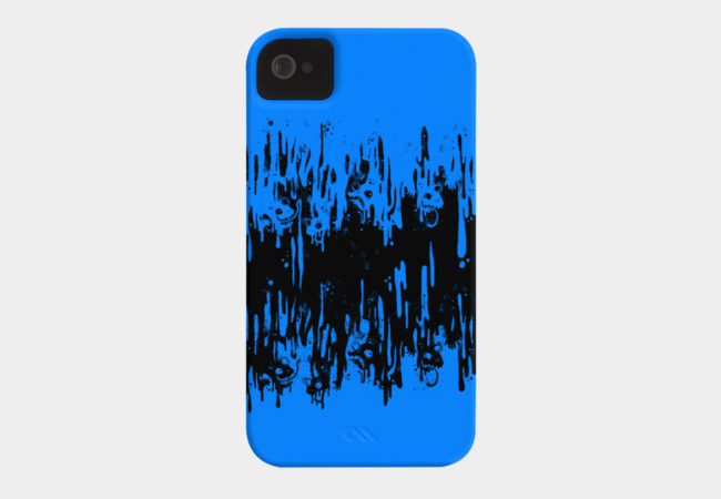 Black Melt Phone Case - Design By Humans