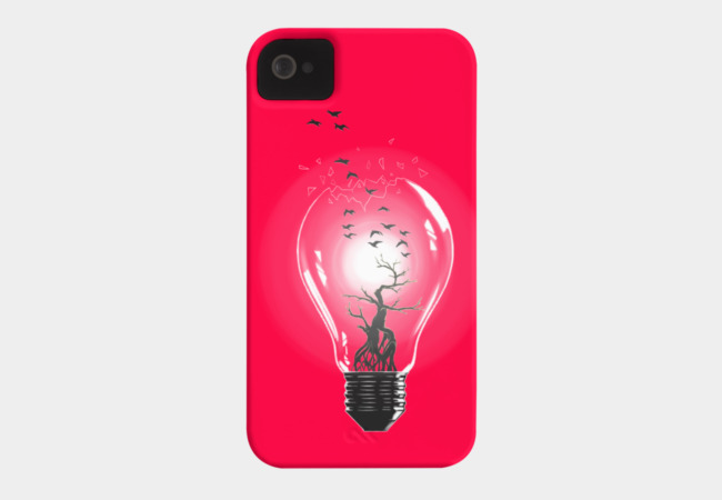 Bulb Phone Case - Design By Humans