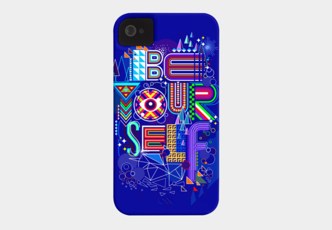 BE YOURSELF Phone Case - Design By Humans