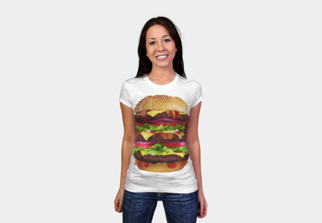 Cheeseburger T-Shirt - Design By Humans
