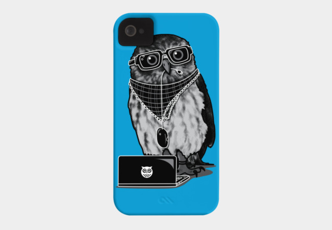 Limited Edition - Smart Owl Phone Case - Design By Humans