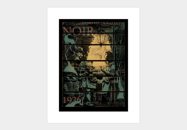 Noir 1936 Art Print - Design By Humans
