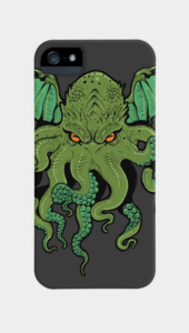 Cthulhu Lives Phone Cases