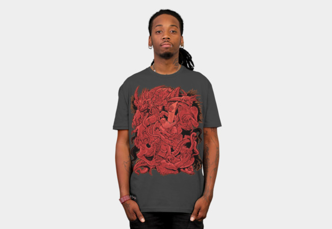 The Temptation of St. Anthony T-Shirt - Design By Humans