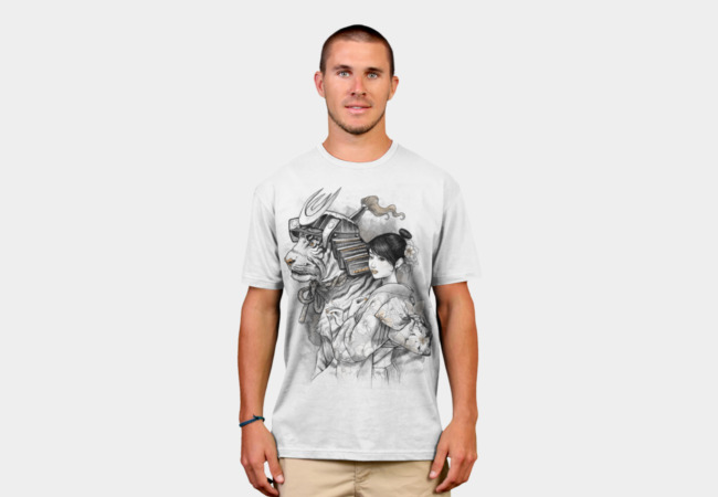 Samurai Tiger T-Shirt - Design By Humans