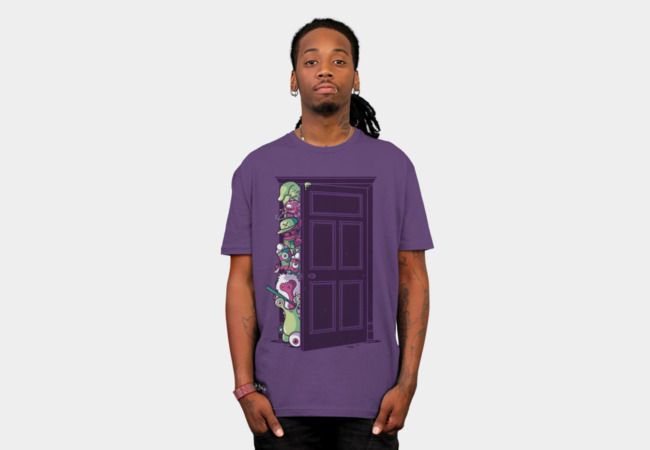 Monsters in the closet T-Shirt - Design By Humans