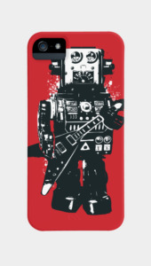 Robot Rocks Phone Cases