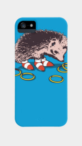 The hedgehog Phone Cases
