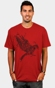 Tattooed Bird T-Shirt
