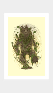 TreeBear Art Prints