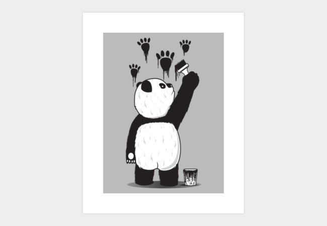Pandalism Art Print - Design By Humans