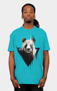 the faded panda T-Shirt