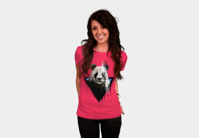 the faded panda T-Shirt - Design By Humans
