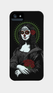 Muerte de mona lisa Phone Cases