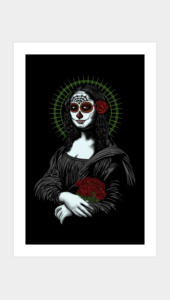 Muerte de mona lisa Art Prints