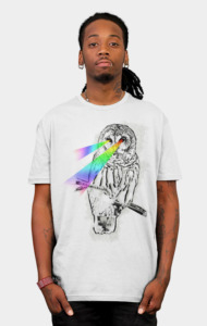 Snowy the Watcher T-Shirt